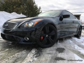 Used 2011 Infiniti G37 X g37xs g37x-s, awd, gps, back cam for sale in Drummondville, QC