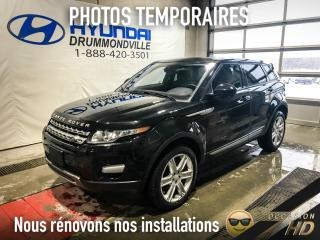 Used 2015 Land Rover Evoque PURE + 19'' + PANO + CAMERA + WOW ! for sale in Drummondville, QC