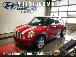 Used 2007 MINI Cooper HARDTOP + PANO + FOGS + A/C + WOW ! for sale in Drummondville, QC
