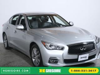 Used 2014 Infiniti Q50 Premium Awd Cuir for sale in Saint-leonard, QC