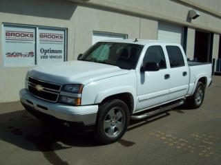 Used 2006 Chevrolet Silverado 1500 1500 1500 LT 4x4 Crew C for sale in Brooks, AB