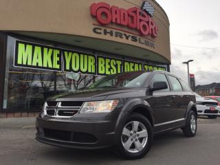Used 2015 Dodge Journey Canada Value Pkg ALLOY WHEELS PUSH BUTTON START for sale in Scarborough, ON