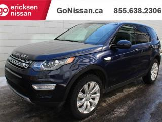 Used 2016 Land Rover Discovery Sport HSELUX: NAVIGATION, 7 PASSENGER, PANORAMIC SUNROOF for sale in Edmonton, AB