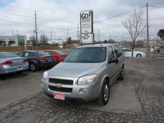 Used 2009 Chevrolet Uplander LS,LOW MILEAGE for sale in Kitchener, ON