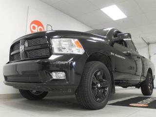 Used 2012 Dodge Ram 1500 Sport 5.7L V8 4x4 heated/cooled power leather seat and heated steering wheel for sale in Edmonton, AB