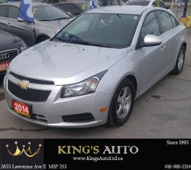 Used 2014 Chevrolet Cruze 2LT for sale in Scarborough, ON