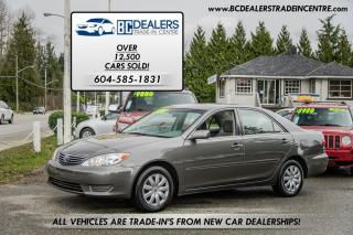 Used 2006 Toyota Camry LE, Local, No Accidents, 4-Cylinder, Extra Clean! for sale in Surrey, BC