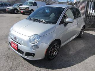 Used 2012 Fiat 500 Sport for sale in Hamilton, ON