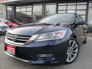 Used 2013 Honda Accord Sport-CAMERA-BLUETOOTH-HEATED-ALLOYS for sale in Scarborough, ON