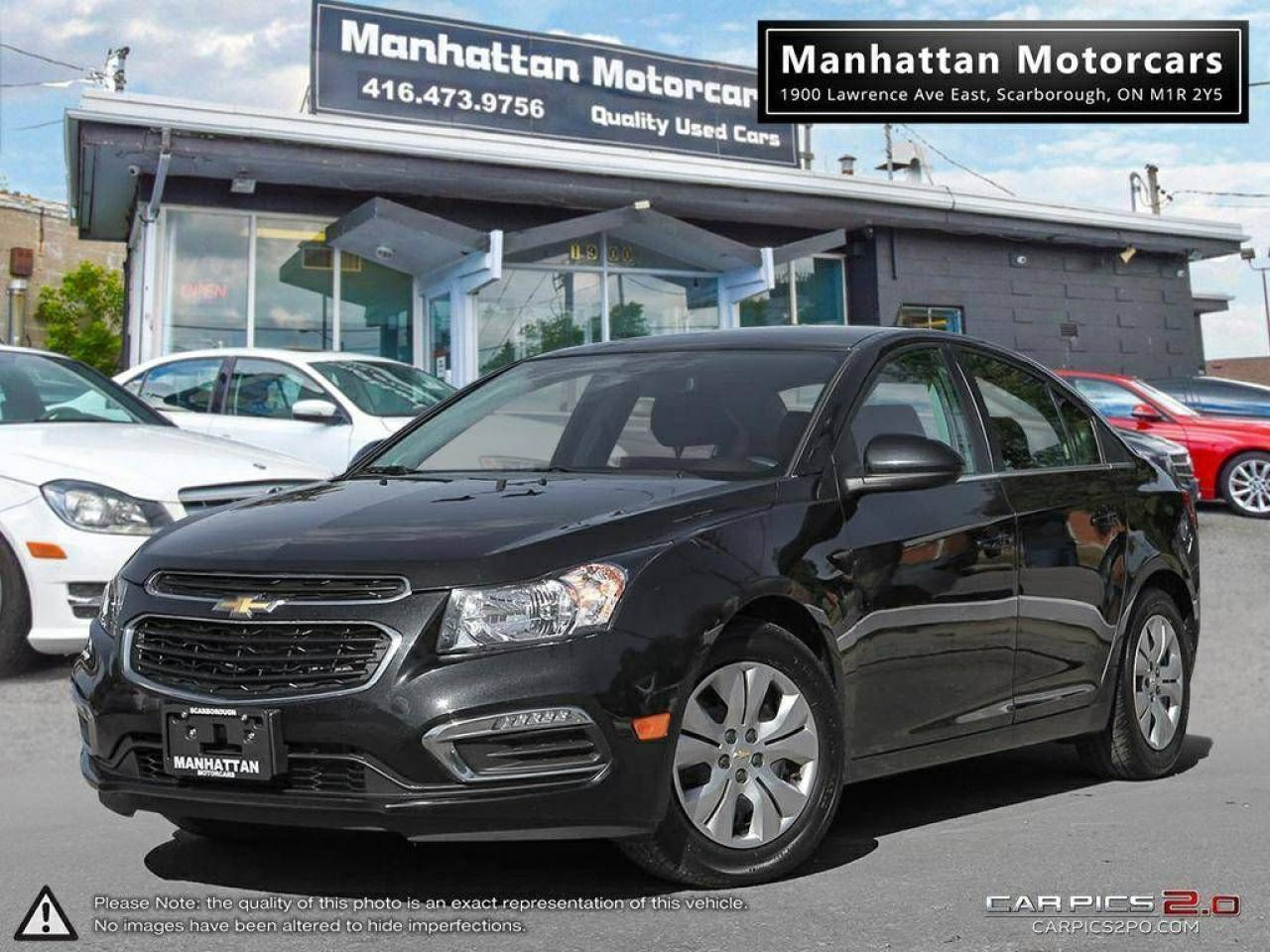 2015 Chevrolet Cruze LT AUTO |BLUETOOTH|CAMERA|WARRANTY|44000KM