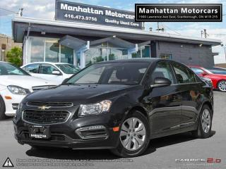 Used 2015 Chevrolet Cruze LT AUTO |BLUETOOTH|CAMERA|WARRANTY|44000KM for sale in Scarborough, ON