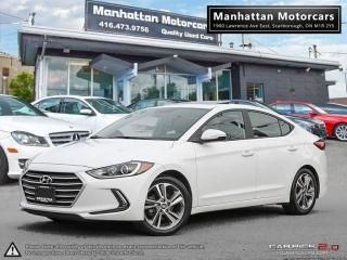 Used 2017 Hyundai Elantra GLS |AUTO|FAC.WARRANTY|ROOF|ALLOY|40000KM for sale in Scarborough, ON