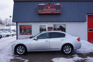 Used 2009 Infiniti G37 X AWD Luxury for sale in Saint-romuald, QC