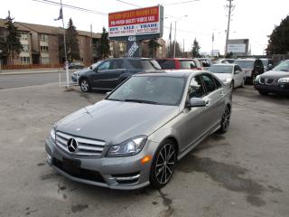 Used 2012 Mercedes-Benz C 300 luxury 4MATIC,Navigation,Backup Camera!!!! for sale in Scarborough, ON