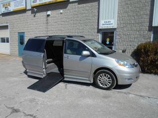 Used 2009 Toyota Sienna LIMITED Wheelchair Accessible Side Entry for sale in London, ON