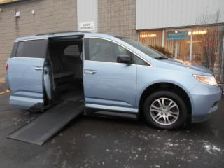 Used 2011 Honda Odyssey Wheelchair Accessible Side Entry conversion for sale in London, ON