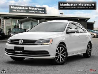 Used 2016 Volkswagen Jetta 1.4T COMFORTLINE |ROOF|ALLOY|WARRANTY|43KM for sale in Scarborough, ON