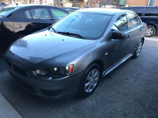 Used 2012 Mitsubishi Lancer DE VERYLOWKMS CERTIFIED for sale in York, ON