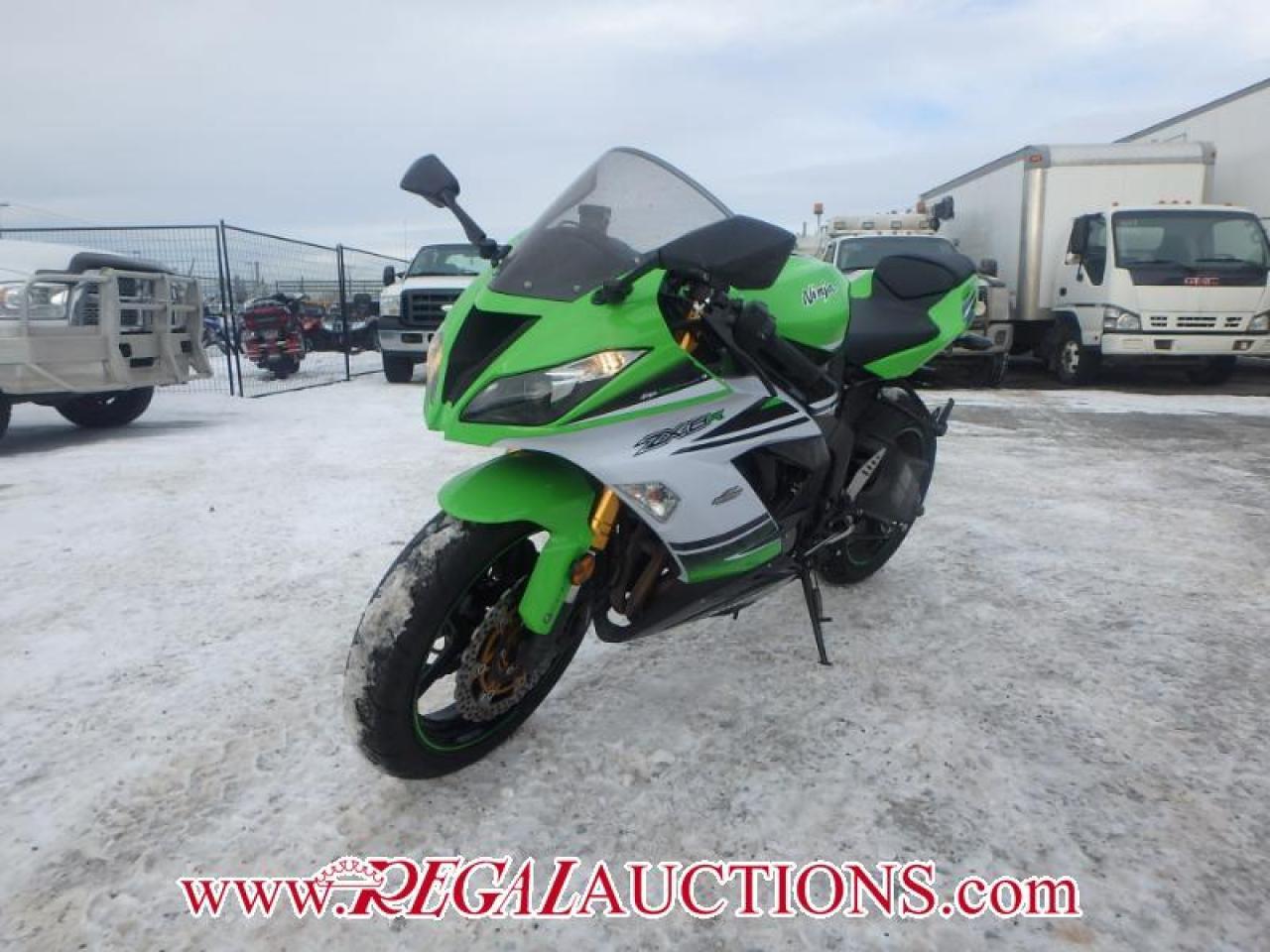Photo of Green 2015 Kawasaki NINJA 636 ZX6R ABS  SPORTS MOTORCYCLE
