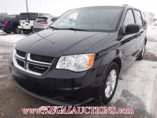 Used 2014 Dodge GRAND CARAVAN SXT WAGON 7PASS 3.6L for sale in Calgary, AB