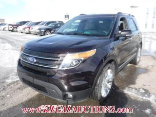 Used 2014 Ford EXPLORER LIMITED 4D UTILITY V6 7 PASS AWD 3.5L for sale in Calgary, AB