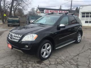 Used 2009 Mercedes-Benz ML 320 3.0LBlueTEC/Navi/Backup Camera/Bluetooth/Certified for sale in Scarborough, ON