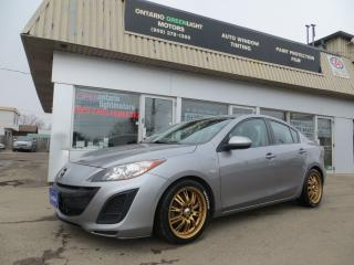 Used 2010 Mazda MAZDA3 SUPER LOW KM, PERFORMANCE BRAKES,TOP SOUND SYSTEM for sale in Mississauga, ON