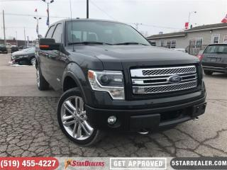 Used 2013 Ford F-150 Limited | NAV | LEATHER | ROOF ECOBOOST for sale in London, ON