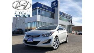 Used 2016 Hyundai Elantra GL - WELL KEPT TRADE IN for sale in Toronto, ON
