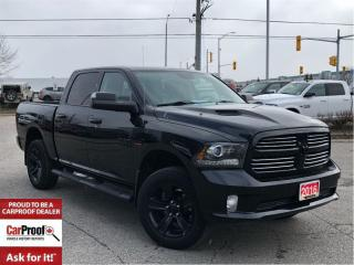 Used 2016 Dodge Ram 1500 SPORT**4 CORNER AIR SUSPENSION**SUNROOF** for sale in Mississauga, ON