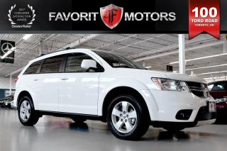 Used 2012 Dodge Journey SXT & Crew FLEX FUEL | 7-PASSENGER | SUNROOF for sale in North York, ON