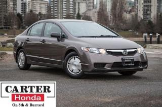 Used 2010 Honda Civic DX-G, local, low kms for sale in Vancouver, BC