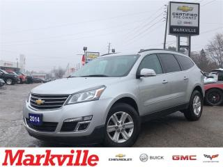 Used 2014 Chevrolet Traverse AWD -LT-GM CERTIFIED PRE-OWNED-1 OWNER TRADE for sale in Markham, ON