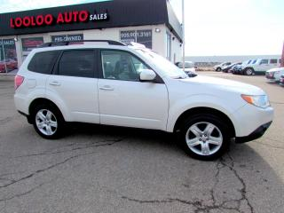 Used 2010 Subaru Forester 2.5X Limited AWD Panoramic Sunroof Certified 2YR Warranty for sale in Milton, ON