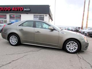 Used 2010 Cadillac CTS 4 3.0L AWD PANORAMIC SUNROOF CERTIFIED 2YR WARRA for sale in Milton, ON