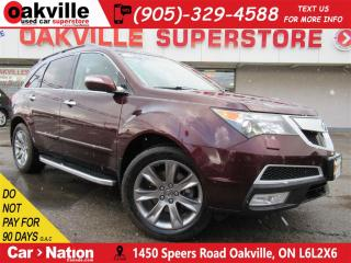 Used 2011 Acura MDX Elite Pack | LEATHER | 7 PASS | AWD | NAV | DVD for sale in Oakville, ON
