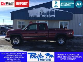 Used 2007 Chevrolet Silverado 1500 base for sale in Headingley, MB
