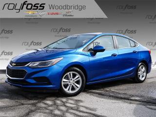 Used 2017 Chevrolet Cruze LT Auto BACKUP CAM, HEATED SEATS, SUNROOF for sale in Woodbridge, ON