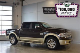Used 2016 Dodge Ram 1500 Longhorn - Diesel, GPS, Sunroof, Back Up Cam for sale in London, ON