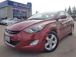 Used 2013 Hyundai Elantra GLS-ALLOYS RIMS-SUNROOF for sale in Mississauga, ON