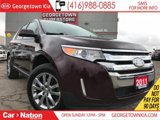 Used 2011 Ford Edge SEL | AWD | SUNROOF | LEATHER | 3.5L V6 | for sale in Georgetown, ON