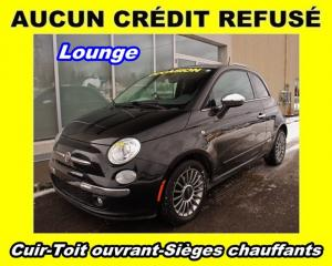 Used 2012 Fiat 500 LOUNGE CUIR for sale in Saint-jerome, QC