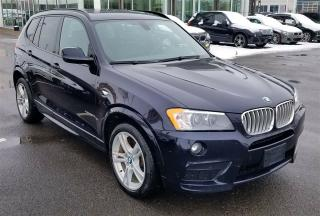 Used 2014 BMW X3 Xdrive28i M Sport for sale in Dorval, QC