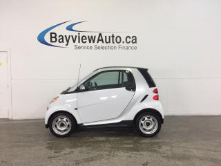 Used 2013 Smart fortwo - KEYLESS ENTRY! A/C! BLUETOOTH! LOW KM! for sale in Belleville, ON
