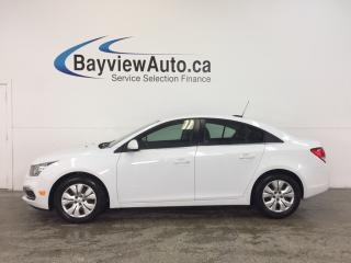 Used 2016 Chevrolet Cruze 1LT- TURBO|REM STRT|A/C|MY LINK|ON STAR|CRUISE! for sale in Belleville, ON