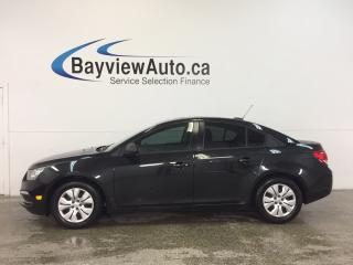 Used 2016 Chevrolet Cruze - 6 SPEED|1.8L|KEYLESS ENTRY|ON STAR|LOW KM! for sale in Belleville, ON