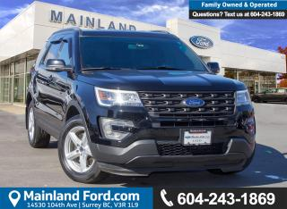 Used 2017 Ford Explorer XLT LOW KMS, BC LOACL, ACCIDENT FREE for sale in Surrey, BC
