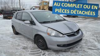 Used 2007 Honda Fit for sale in St-Georges-Est, QC
