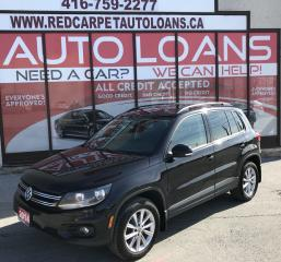 Used 2014 Volkswagen Tiguan Comfortline ALL CREDIT ACCEPTED for sale in Scarborough, ON