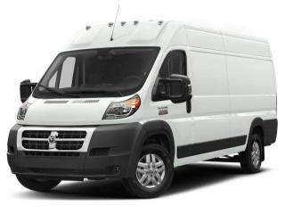 New 2018 RAM 3500 ProMaster High Roof for sale in Surrey, BC
